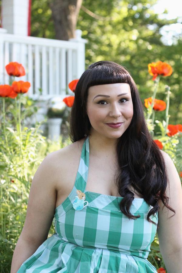 the soubrette brunette