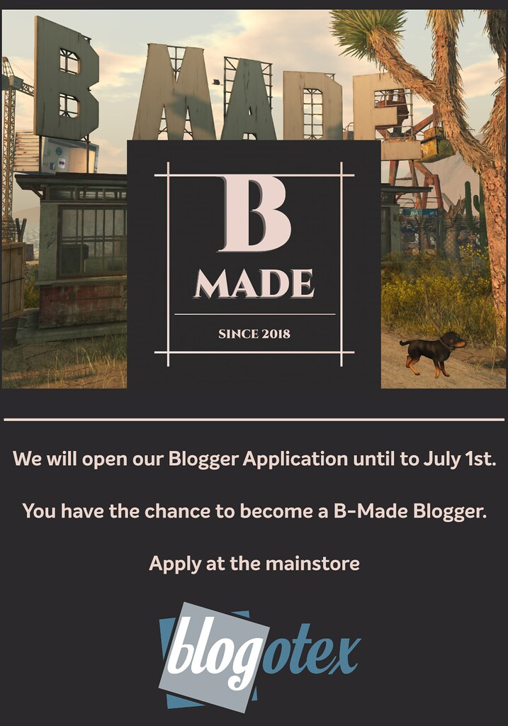 B-Made Blogger Application Open