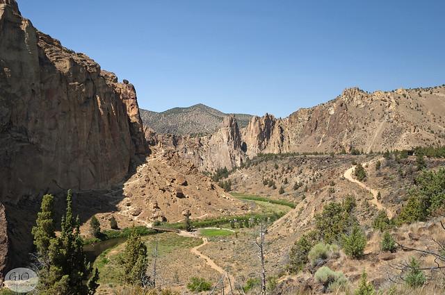 Smith Rock near Redmond, Oregon