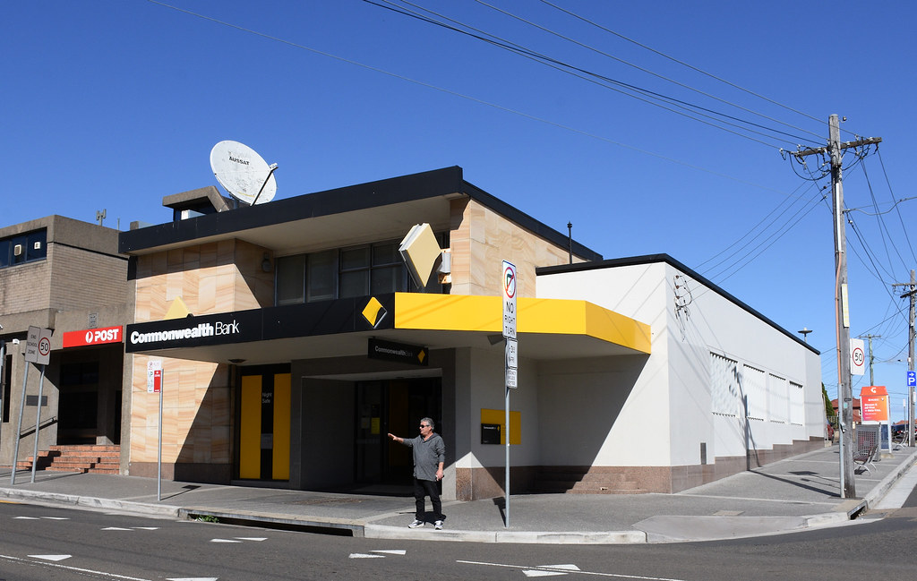 Commonwealth Bank, Kingsgrove, Sydney, NSW.