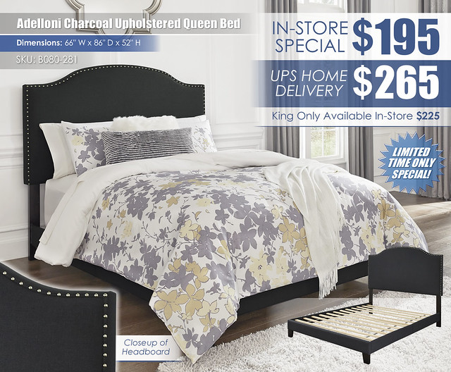 Adelloni Charcoal Upholstered Bed_B080-281_New