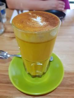 Turmeric Latte at The Green Edge