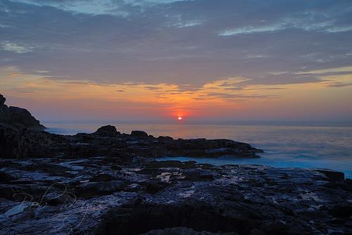 baldheadcliffs york maine rocks sunrise sunset reyes nikon d800 morning nature ocean waves alba