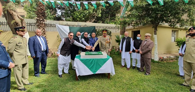 """Flag Hoisting on occasion of """"Pakistan Day"""""""