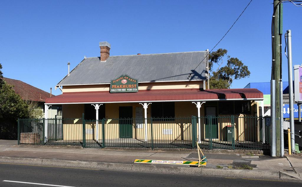 School of Arts, Peakhurst, Sydney, NSW.