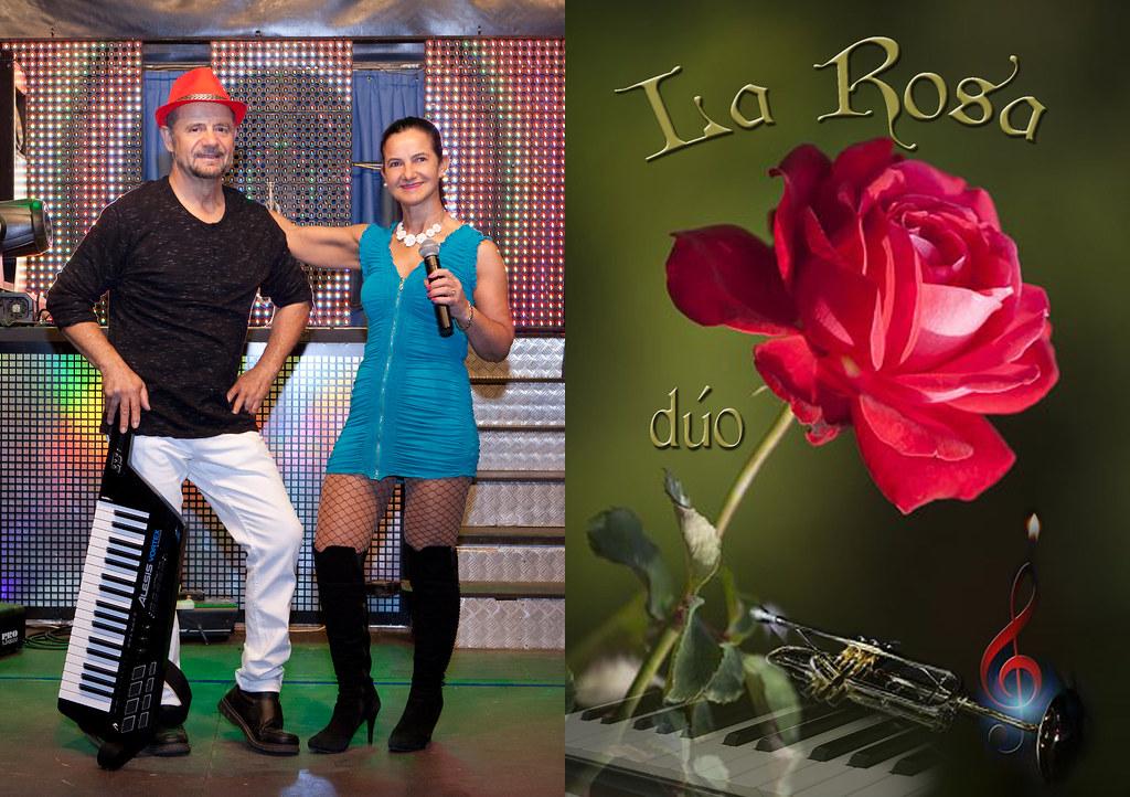Cantantes La Rosa víptico