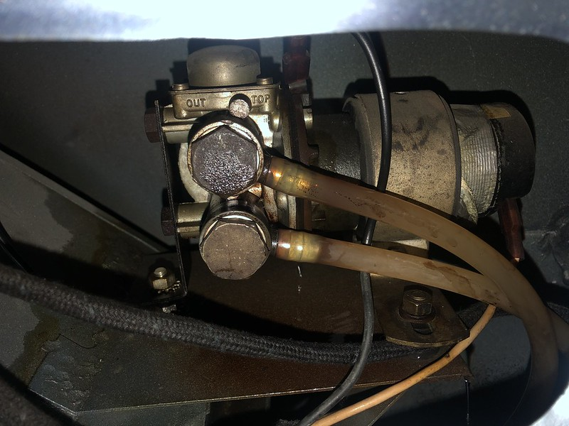 Leaking SU fuel pump