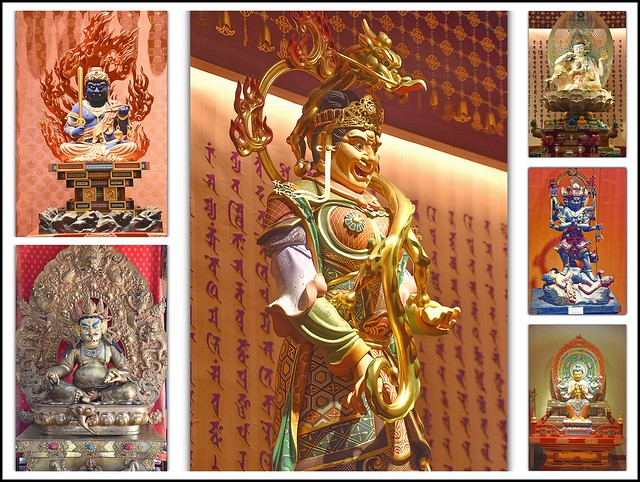 Miniature Statuete at Buddha Tooth Relic Temple, Singapore