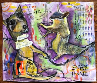 Art Journal J236 Smile - Its Not Contagious