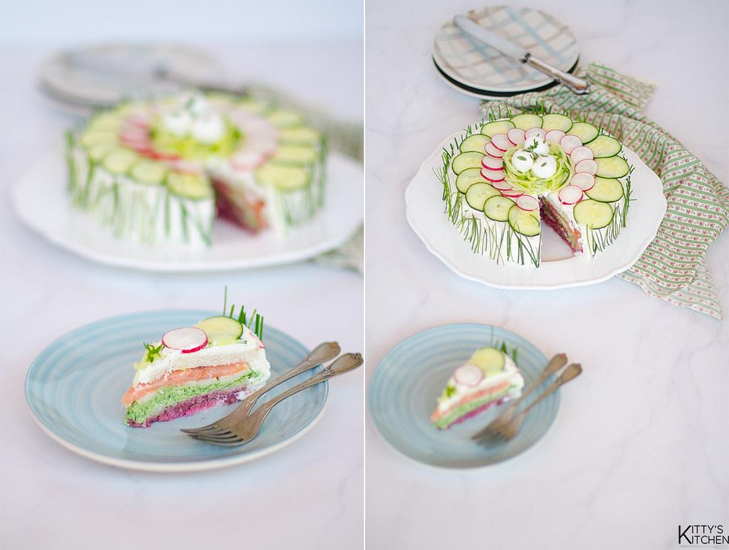 smörgåstårta, la torta tramezzino