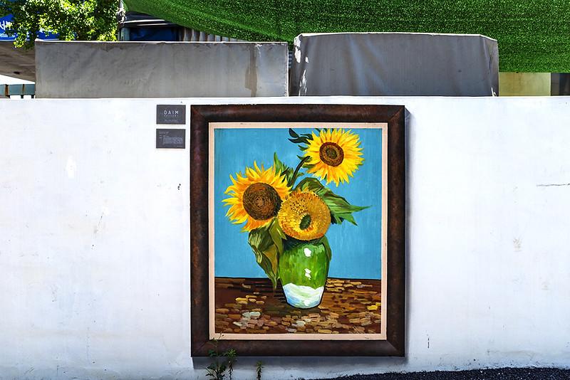 van Gogh on wall of a press die factory in Gamjeon-dong--Busan