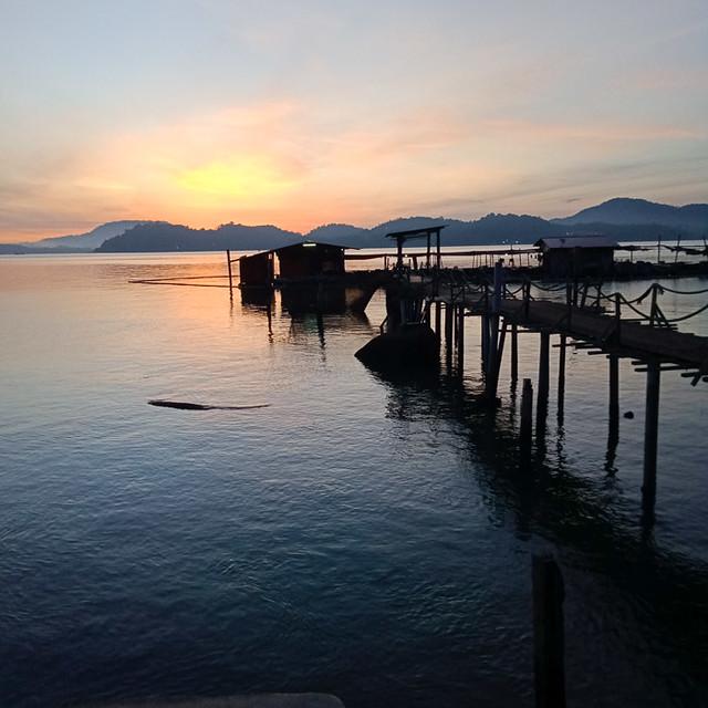 Sunrise at Pulau Pangkor.
