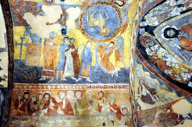 723 - Pinturas - Iglesia Santos Justo y Pastor - Segovia - Spain.