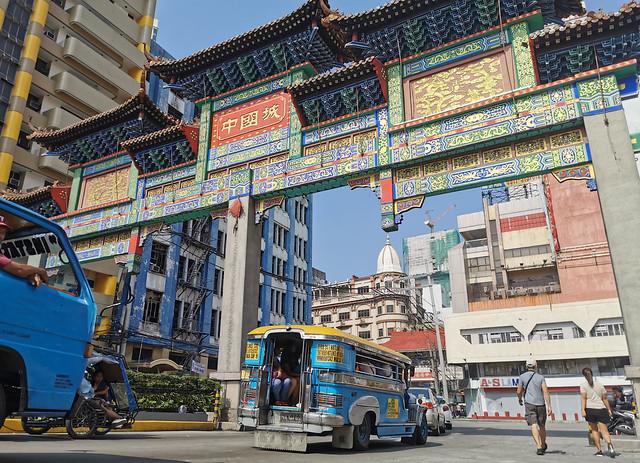 Chinatown Arch Binondo Metro Manila Capital Philippines Southeast-Asia  © Hauptstadt Philippinen Südost-Asien ©