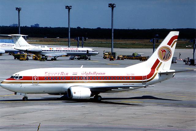 "EgyptAir Boeing 737-566 SU-GBI ""Abu Simbel"" written-off"