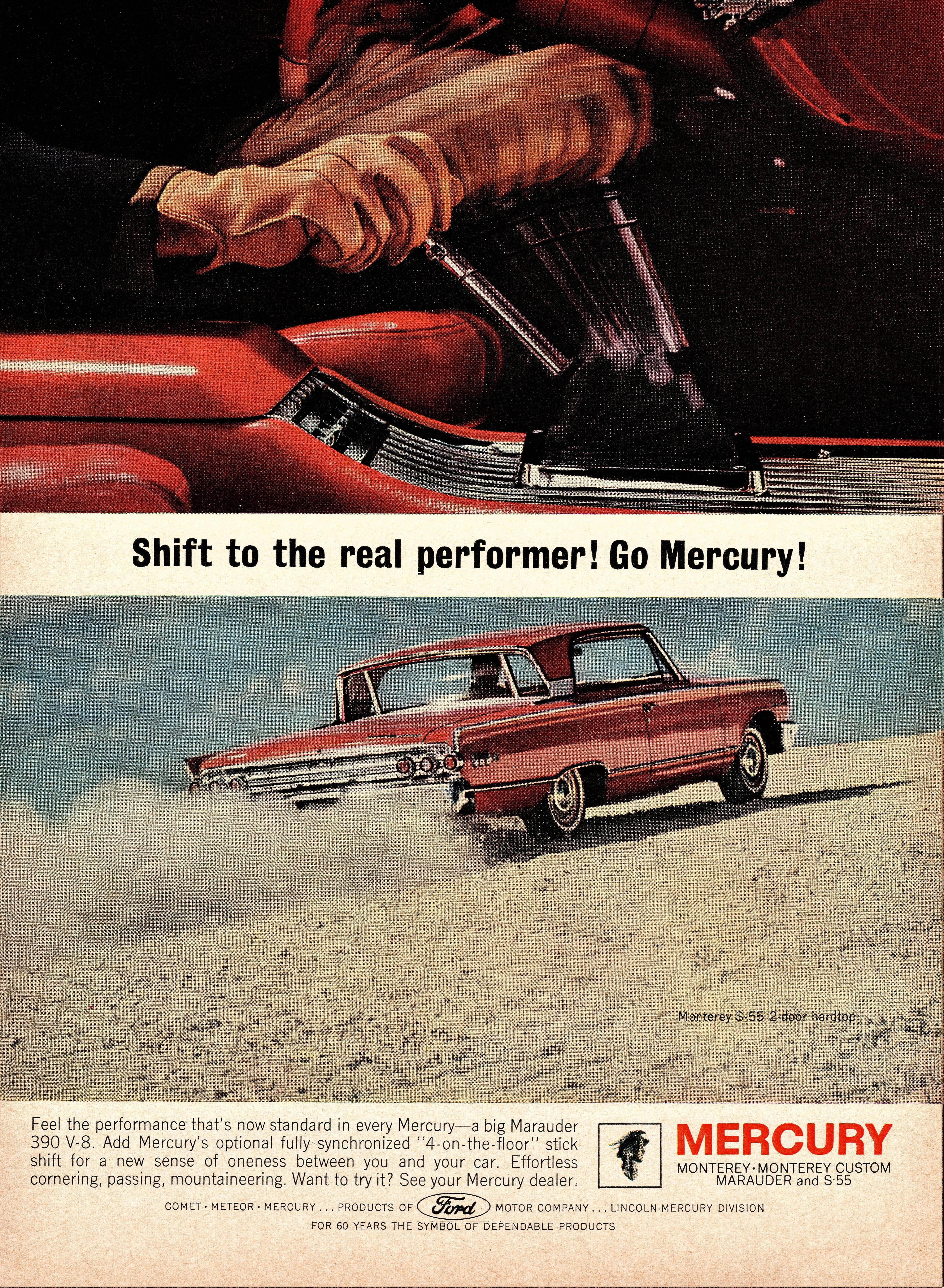 1963 Mercury Monterey S-55 2-Door Hardtop