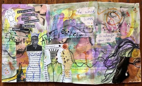 Art Journal J235 Unbearable