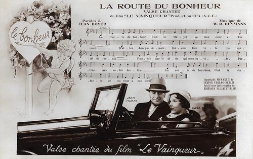 Käthe von Nagy and Jean Murat in Le Vainqueur (1932)