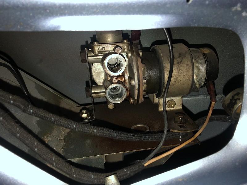 Leaking SU fuel pump