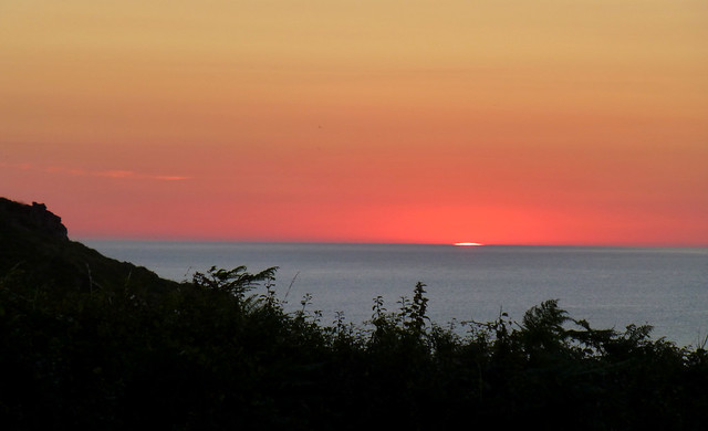 Sunset, Pembrokeshire, Wales