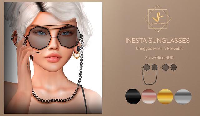 Inesta Sunglasses x Shiny Shabby ♥