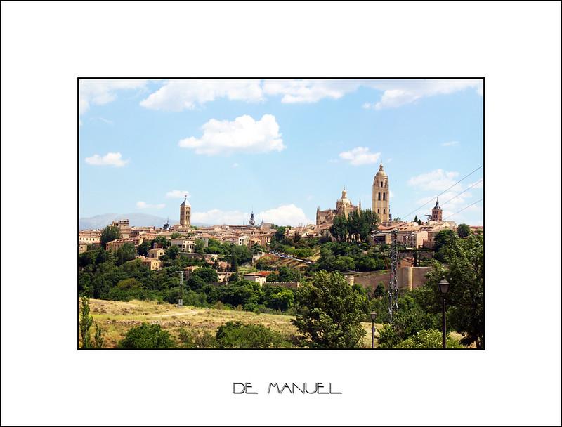 Segovia sobre la marcha