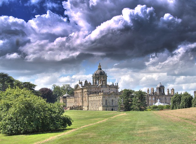 Stormy Castle Howard - Explored