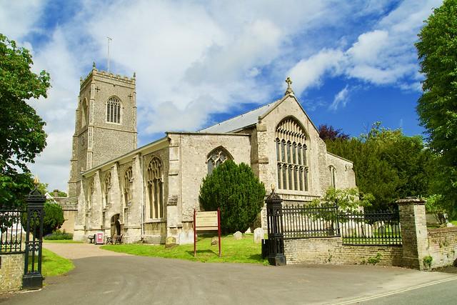 St Michael's Church Framlingham.