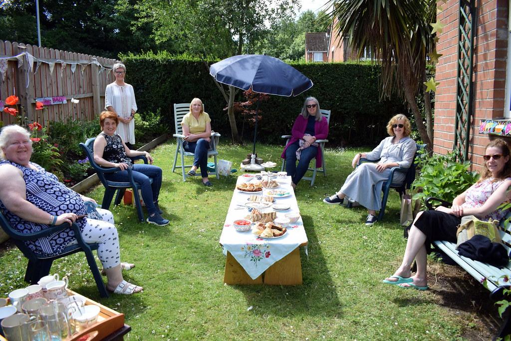 Wendys birthday tea party