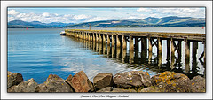 Lamont's Pier, Port Glasgow. Scotland.