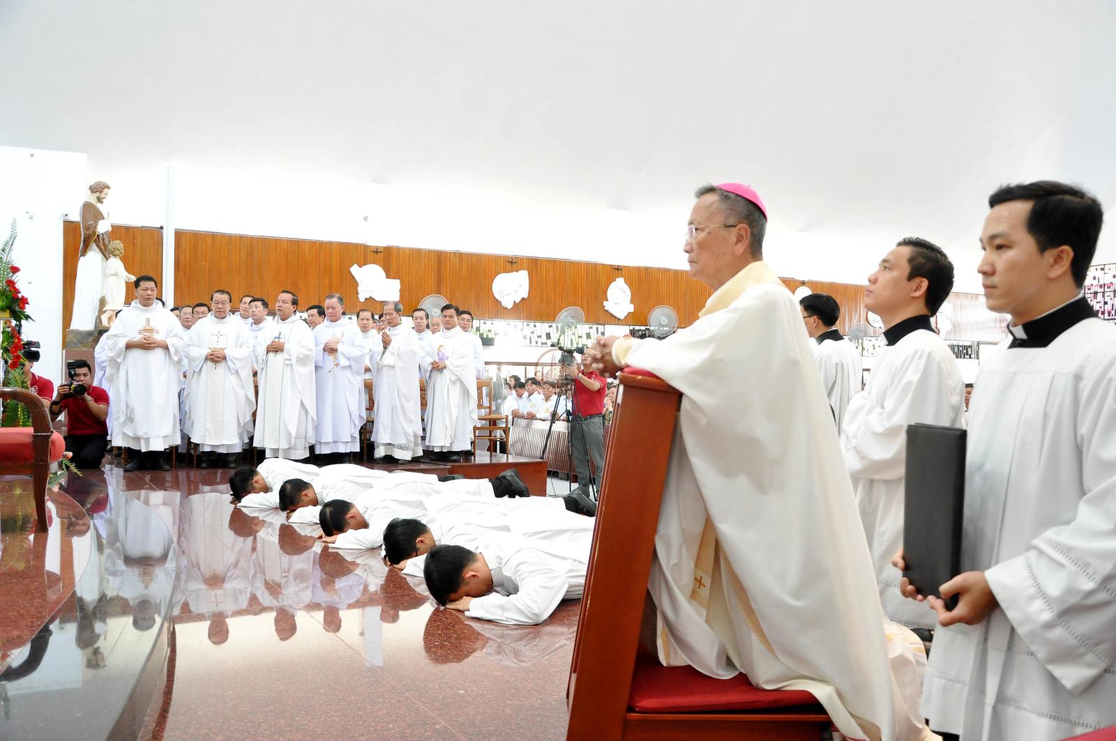 Giáo phận Bà Rịa: Thánh lễ truyền chức phó tế 2020