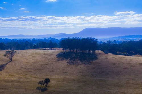 scenicrimregion landscape winter australia morning clouds hinterland trees queensland tabragalba オーストラリア
