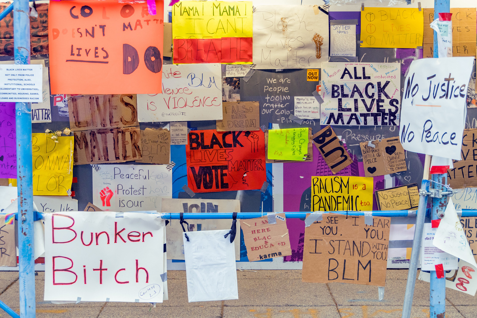2020.06.19 Black Lives Matter Plaza, Washington, DC USA 171 41233