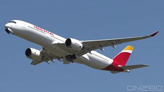 Iberia A350-941 msn 419 EC-NJM