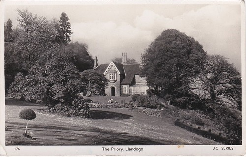 The Priory, Llandogo Postcard