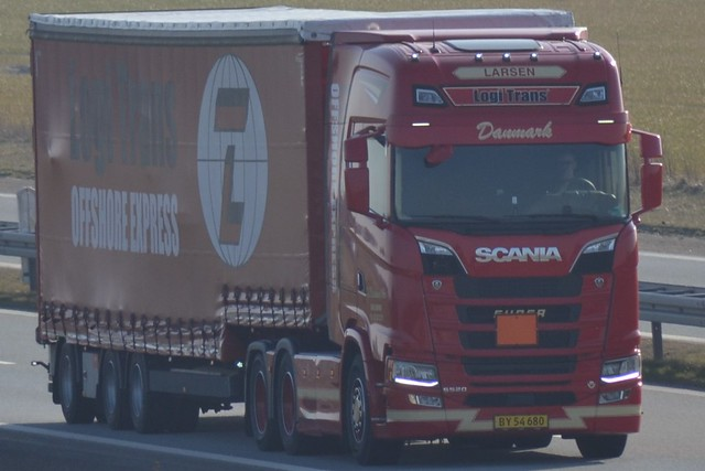 Scania NG S 520 V8 - J.O.Pedersen & Søn Brejning - Logi Trans offshore Express - BY 54 680 - Larsen
