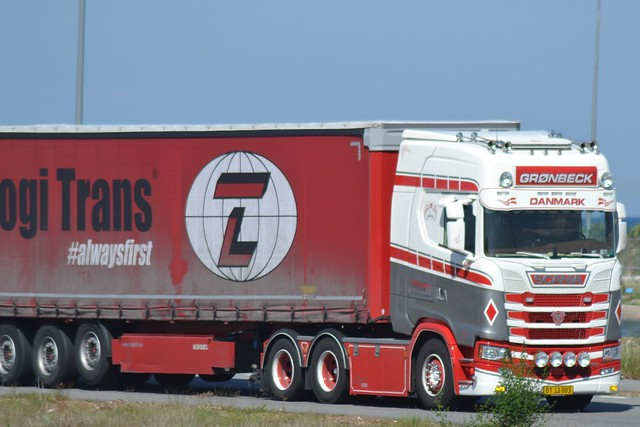 Scania NG S 500 - Thomas Grønbeck Give - Logi Trans #alwaysfirst - BT 13 003