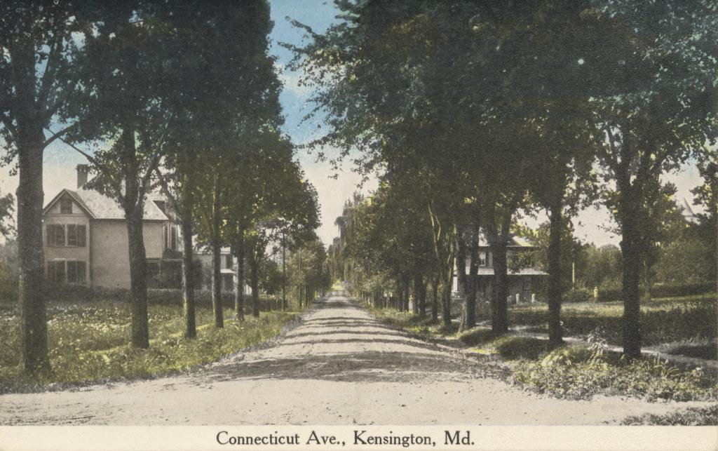 Connecticut Avenue in Kensington