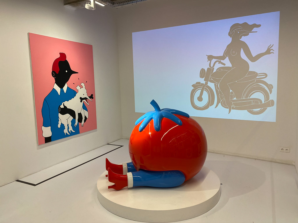 Piet Parra (NL) excels in the poetics of the absurd