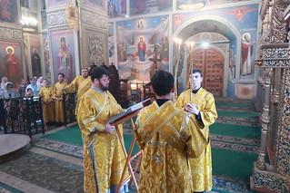 21.06.2020 | Литургия в Неделю всех Русских святых