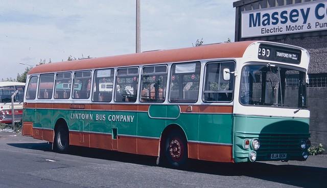 BJA180K AEC Swift/Alexander - Lyntown Bus Company, Manchester