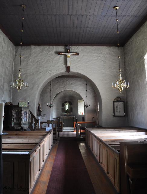 Old Hjälmseryd Church (Interior)