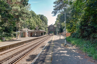 Tadworth Station, June 2017