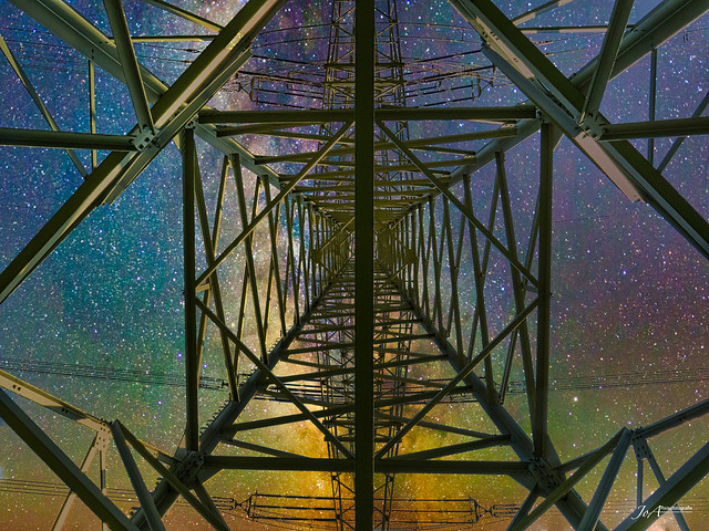 Powerline to the stars