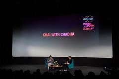 Chai with Gurinder Chadha at LIFF 2019