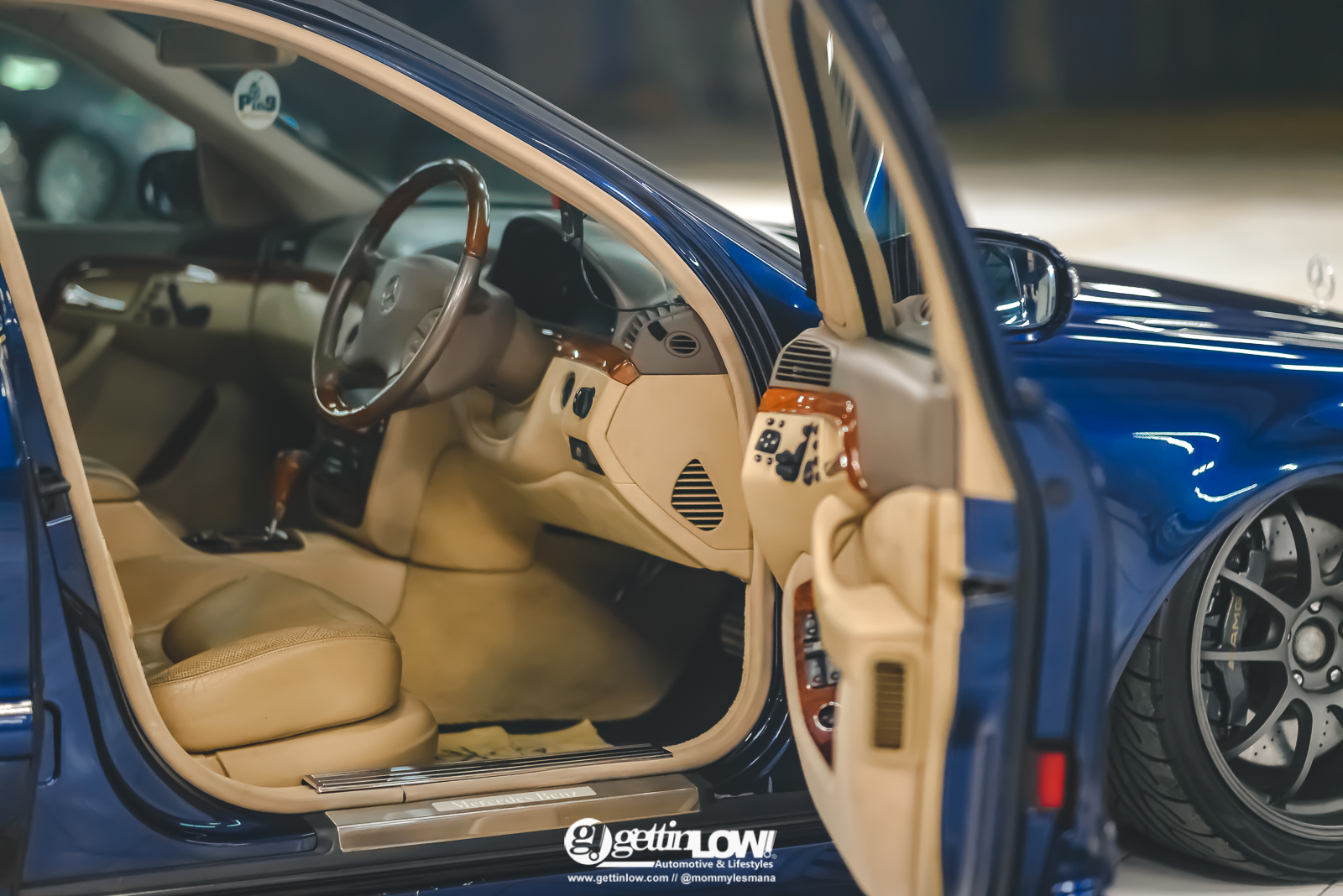 Mercedes-Benz W220 PingWheels