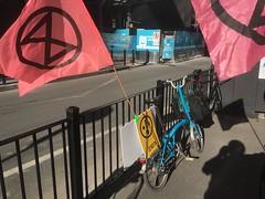 XR flags for Extinction Rebellion Bike Bloc 5 - IMG_6372