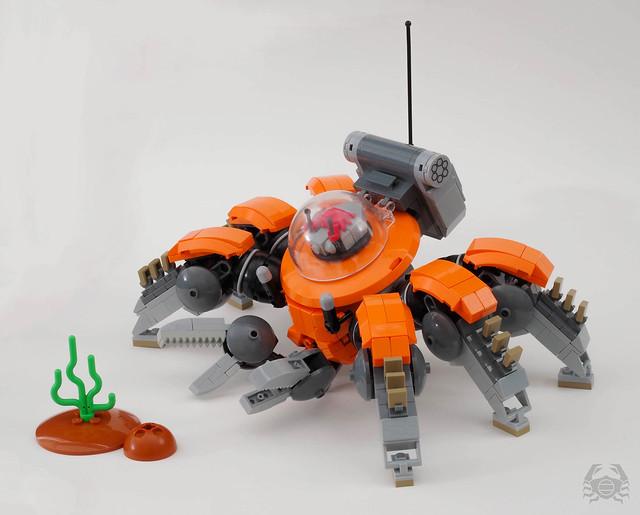 Crabvanced diving suit