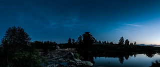 Midsummer night noctilucent clouds | by Kasaari