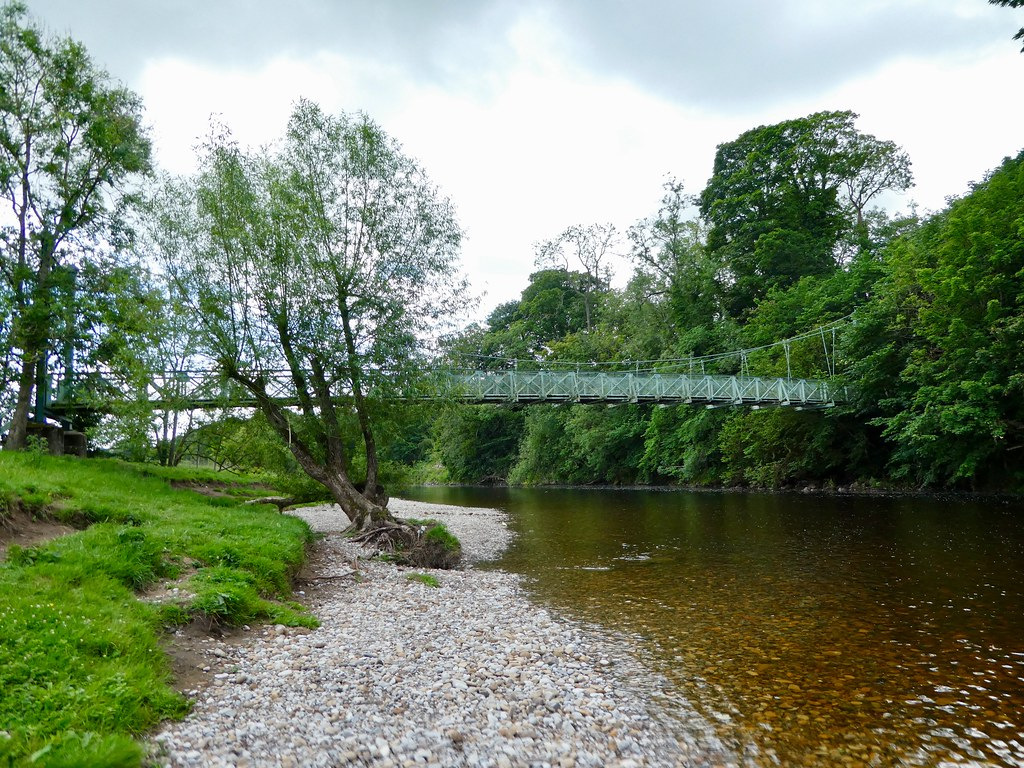 Addingham suspension bridge